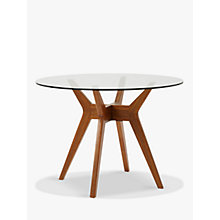 Buy west elm Jensen 4 Seater Round Dining Table Online at johnlewis.com