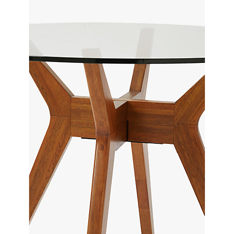 Buy West Elm Jensen 4 Seater Round Dining Table John Lewis