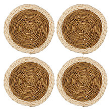 Buy Gone Rural Natural Coaster Set, Set of 6 Online at johnlewis.com