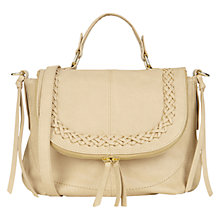 Buy Oasis Pippa Plait Satchel Bag Online at johnlewis.com