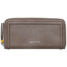 Buy Calvin Klein Robyn Large Zip-Around Purse Online at johnlewis.com