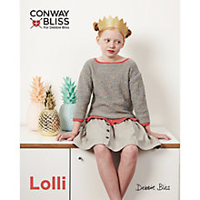 Buy Conway Bliss For Debbie Bliss Lolli Children's Frilled Edge Top Knitting Pattern, 020 Online at johnlewis.com