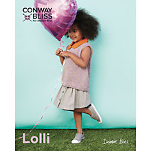 Buy Conway Bliss For Debbie Bliss Lolli Children's Sleeveless Top Knitting Pattern, 018 Online at johnlewis.com