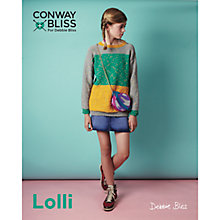 Buy Conway Bliss For Debbie Bliss Lolli Children's Colour Block Sweater Knitting Pattern, 021 Online at johnlewis.com