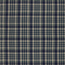 Buy John Lewis Penrith Check Curtain, Indigo Online at johnlewis.com