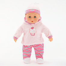 Buy John Lewis Talking Baby Doll Online at johnlewis.com