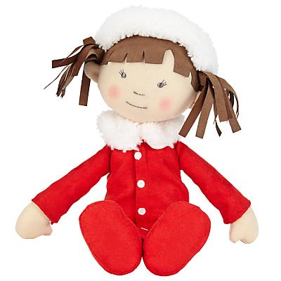 John Lewis Winter Rag Doll