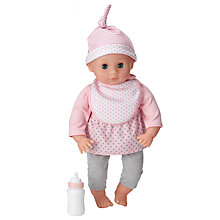 Buy John Lewis My First Baby Girl Doll and Accessories Set Online at johnlewis.com