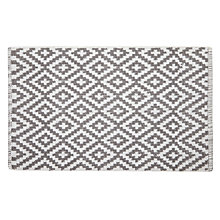 Buy John Lewis Fusion Mila Bath Mat, Grey Online at johnlewis.com