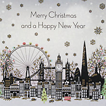 Buy Five Dollar Shake Moonlit London Christmas Cards, Box of 6 Online at johnlewis.com