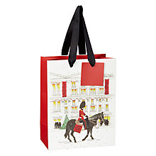 Buy John Lewis Festive London Gift Bag, Small Online at johnlewis.com