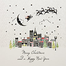 Buy Five Dollar Shake Colourful Town Christmas Cards, Box of 6 Online at johnlewis.com