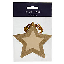 Buy John Lewis Helsinki Star Gift Tags, 10 Pack Online at johnlewis.com