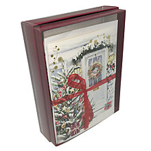 Buy Ling Designs Festive Home Christmas Cards, Box of 10 Online at johnlewis.com