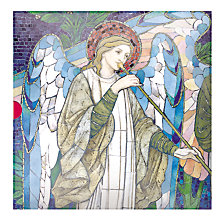 Buy Medici Stained Glass Window Christmas Cards, Box of 16 Online at johnlewis.com