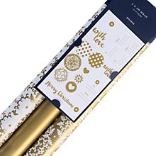 Buy John Lewis Ostravia Snowflake Lace Gift Wrap Set, 3x3m Online at johnlewis.com
