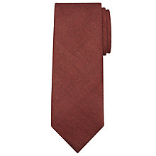 Buy JOHN LEWIS & Co. Made in Italy Plain Wool Tie, Rust Online at johnlewis.com