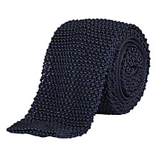 Buy Aquascutum Hinton Knitted Tie Online at johnlewis.com