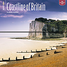 Buy BrownTrout British Coastline 2017 Wall Calendar Online at johnlewis.com
