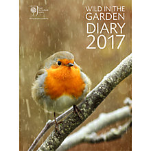Buy RHS Wild In The Garden Diary 2017 Online at johnlewis.com