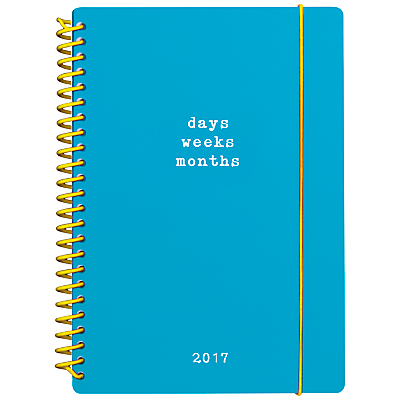 Go Stationery A5 Mid year Weekly Diary