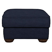 Buy John Lewis Madison Footstool, Senna Dark Nordic Blue Online at johnlewis.com