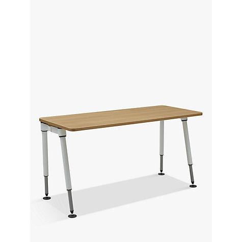 buy herman miller height adjustable sense desk john lewis