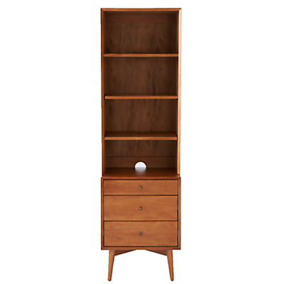 west elm Mid-Century Narrow Unit, 3 Drawer