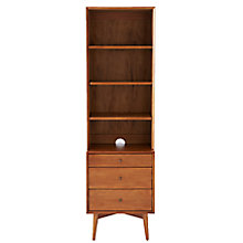 Buy west elm Mid-Century Narrow Unit, 3 Drawer Online at johnlewis.com