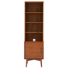 Buy west elm Mid-Century Narrow Unit, 1 Door Online at johnlewis.com