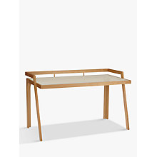 Buy John Lewis Gazelle Desk, Ash Online at johnlewis.com