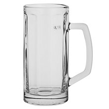 Buy John Lewis Beer Berna Glass, Clear Online at johnlewis.com