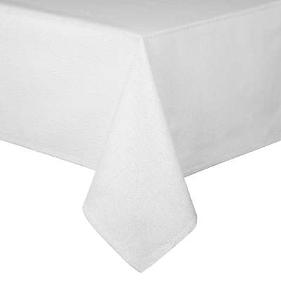 John Lewis Sparkle Tablecloth, Silver