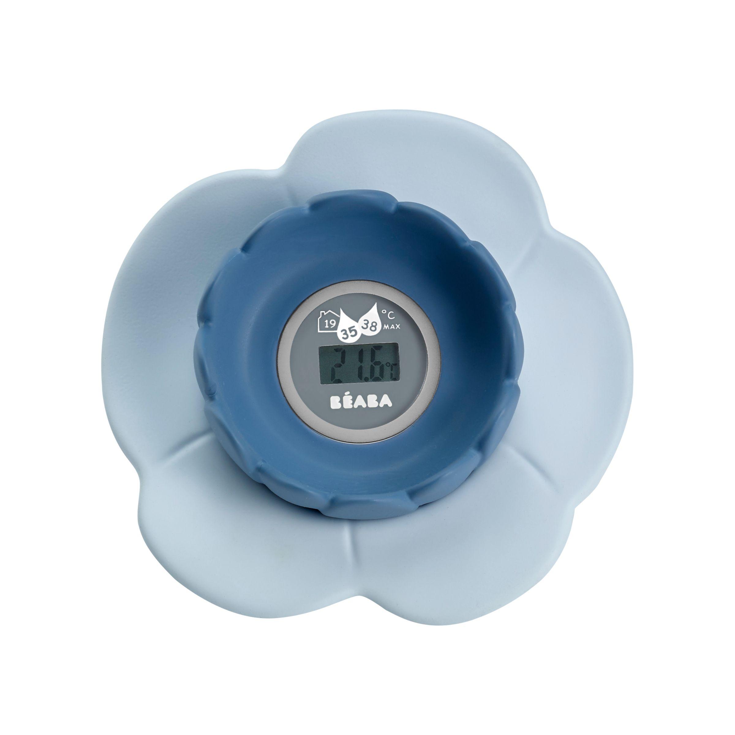 Beaba Beaba Lotus Bath And Room Baby Thermometer, Blue