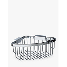 Buy John Lewis New Classic Shower Corner Basket Online at johnlewis.com