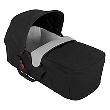 Buy Maclaren Baby Carrycot, Black/Silver Online at johnlewis.com