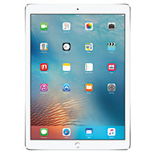 "Buy Apple iPad Pro, A9X, iOS, 12.9"", Wi-Fi, 256GB Online at johnlewis.com"