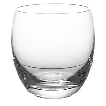 Buy John Lewis Barrel Tumbler, Clear Online at johnlewis.com
