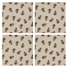 Buy John Lewis Pinecone Napkin, Set of 4 Online at johnlewis.com