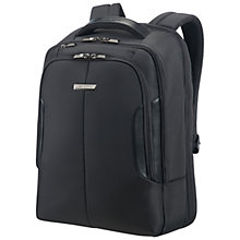 "Buy Samsonite XBR 15"" Laptop Backpack, Black Online at johnlewis.com"
