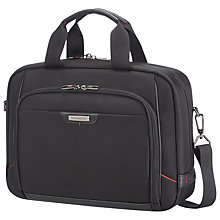 Buy Samsonite Pro DLX Tablet Workstation Briefcase, Black Online at johnlewis.com