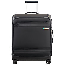 Buy Samsonite Smarttop Spinner 4-Wheel 56cm Cabin Suitcase, Black Online at johnlewis.com