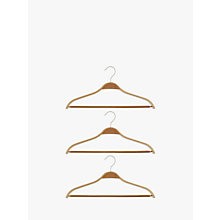 Buy John Lewis Scandi Suit Hangers, Set of 3 Online at johnlewis.com