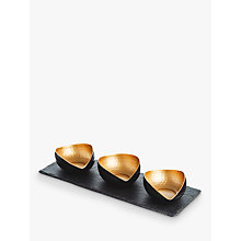 Buy Just Slate Deluxe Mezze Set Online at johnlewis.com