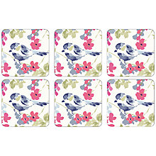 Buy John Lewis Floral Coaster, Set of 6 Online at johnlewis.com