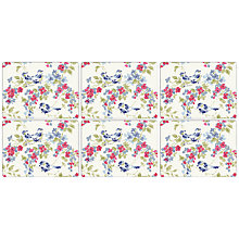 Buy John Lewis Floral Placemat, Set of 6 Online at johnlewis.com