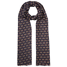 Buy John Lewis Mini Butterfly Print Scarf, Multi Online at johnlewis.com