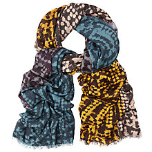 Buy John Lewis Colour Block Abstract Print Scarf, Multi Online at johnlewis.com