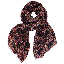 Buy John Lewis Disc Floral Print Scarf, Multi Online at johnlewis.com