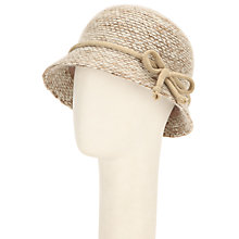 Buy John Lewis Mohair Blend Bow Detail Cloche Hat Online at johnlewis.com